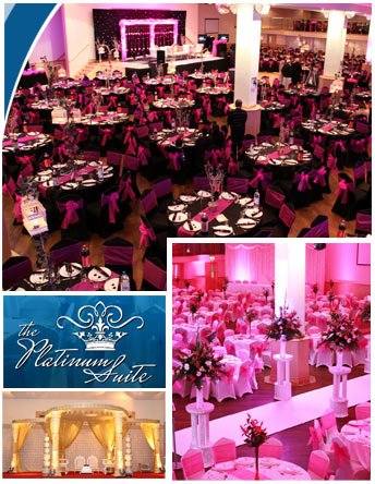 Wedding Venue Leicester Abou the Platinum Suite