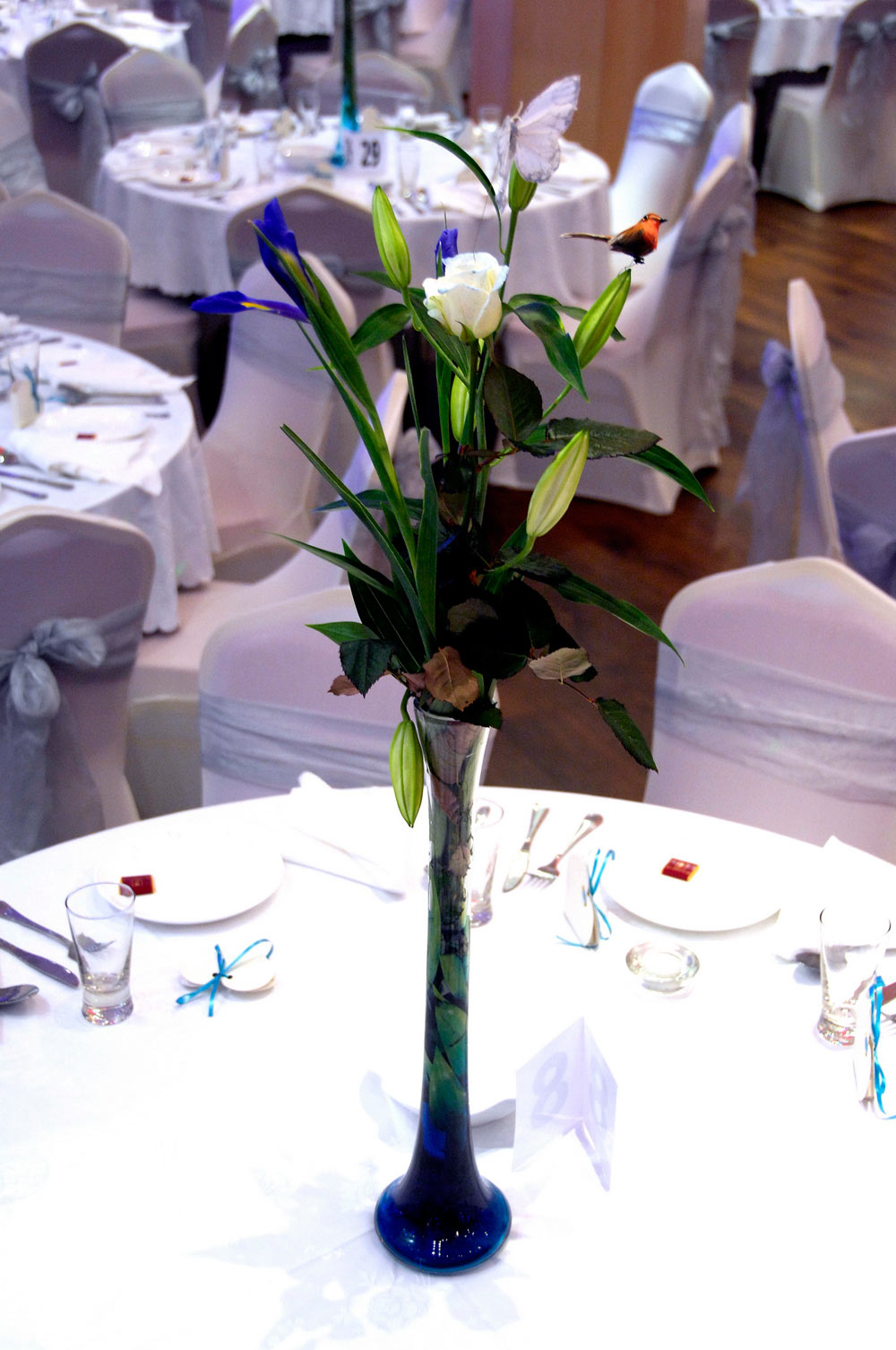 Event And Wedding Centre Pieces The Platinum Suite Leicester