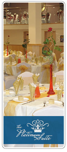 Platinum Suite events and wedding exhibitions