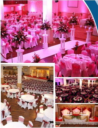 Wedding venue party hire in Leicester