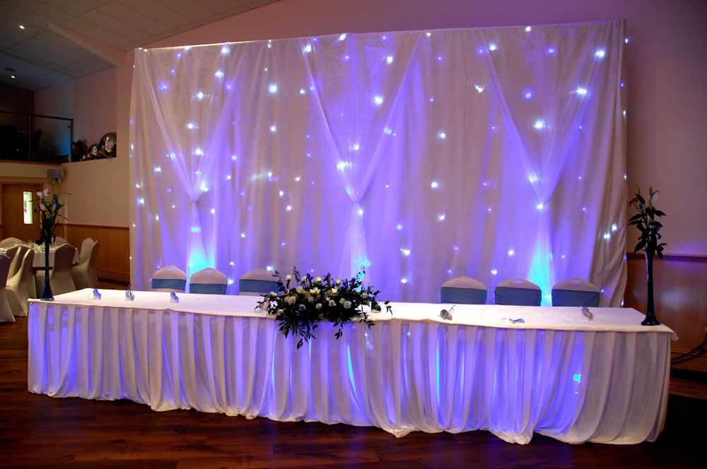 Wedding Reception Decor The Platinum Suite Leicester